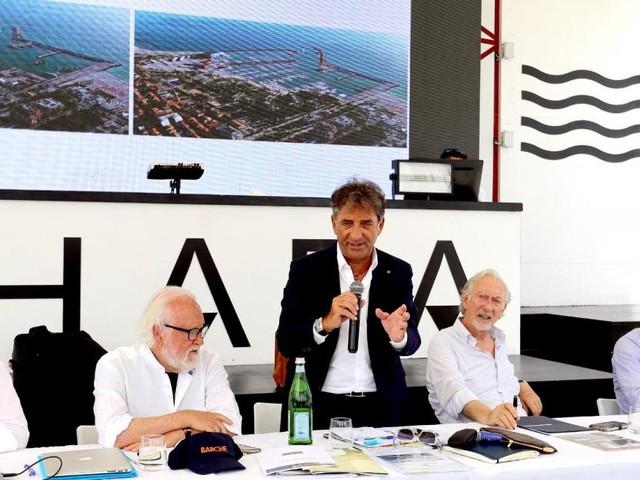 """Civitanova, svelato il progetto Eurobuilding per il porto: """"Opera da fare ora, domani è già tardi"""""""