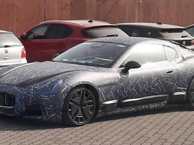 La nuova Maserati GranTurismo è stata avvistata
