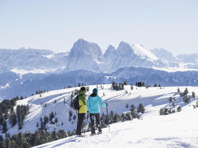 Alto Adige, neve slow sugli alpeggi della Valle Isarco