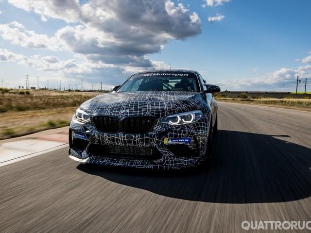 BMW M2 - La versione da corsa debutterà al Ring