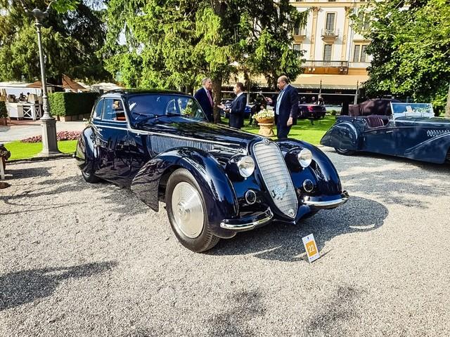Villa d'Este - Concorso d'Eleganza, la Coppa d'Oro va all'Alfa Romeo 8C 2900B Berlinetta
