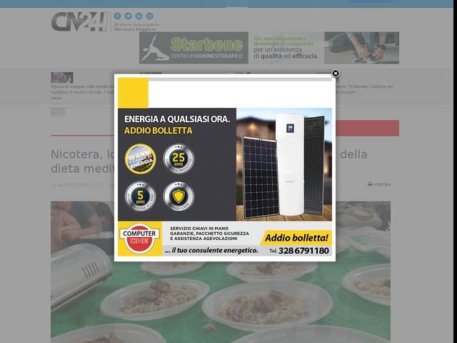 Nicotera, lo chef Emanuele ospite dell'Accademia della dieta mediterranea