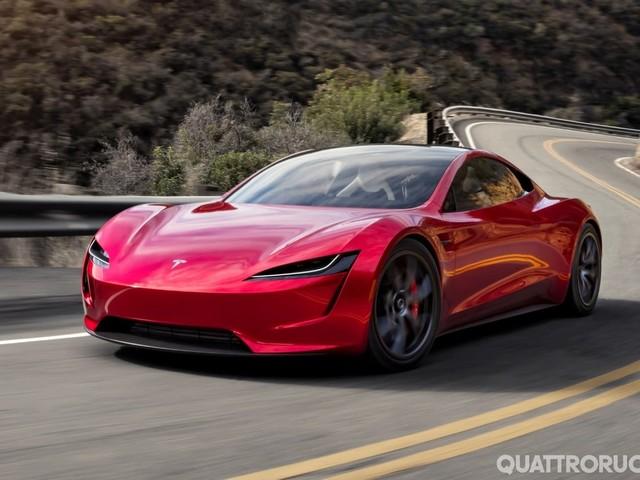 Tesla - La Roadster al Nürburgring nel 2021