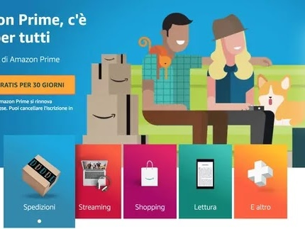 Come Creare un Account di Amazon Prime per Iscriversi Gratis