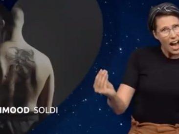 """Eurovision 2019, l'interpretazione di """"Soldi"""" di Mahmood nella lingua dei segni olandese è trascinante"""