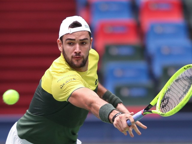 Tennis, stop Berrettini: si ferma in semifinale a Shanghai