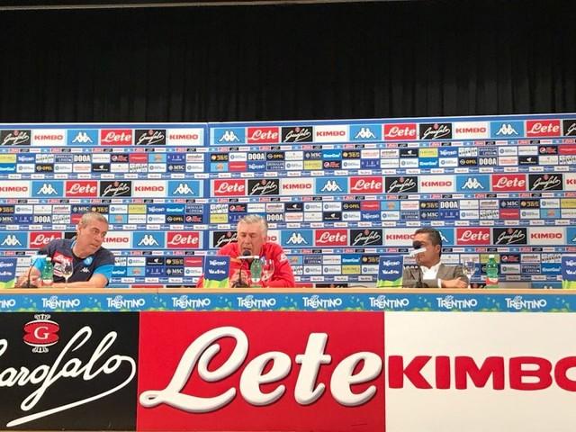 """RELIVE – Ancelotti: """"Qui per i top player? Mi piace il progetto. A centrocampo voglio utilizzarli tutti"""""""