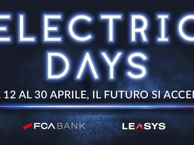 Electric Days, FCA Bank e Leasys promuovono l'auto elettrica