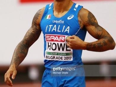 Andrew Howe: l' infortunio di Padova mette a rischio i mondiali di Londra