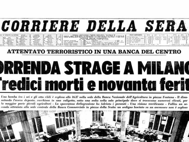 50 anni fa la Strage di Piazza Fontana: cosa è successo?