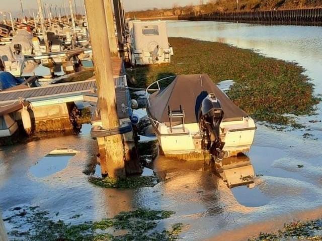 Marano è una palude: il grido d'allarme dei pescatori che restano incagliati