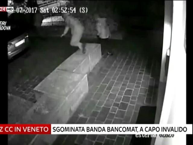 Veneto, sgominata banda bancomat: a capo un invalido
