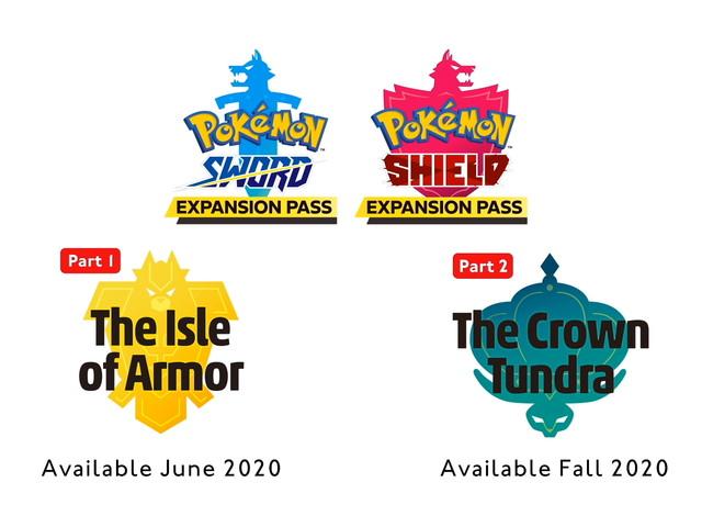 Annunciato il Pass di Espansione per Pokémon Spada e Scudo