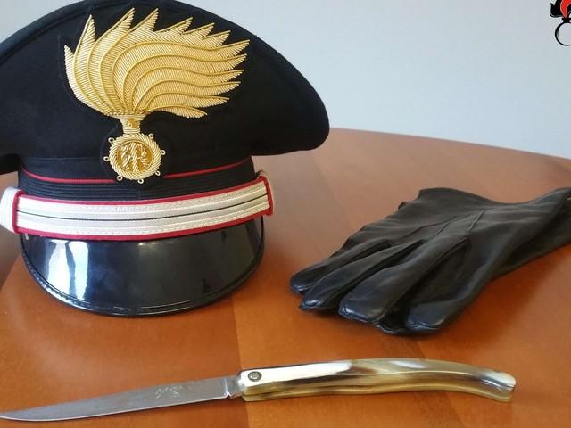 Tunisino in giro per Borgo con un coltello. Denunciato dai Carabinieri.