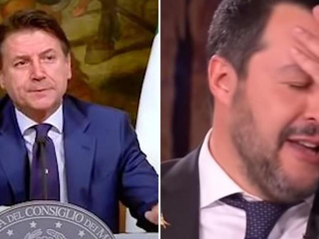 Conte parla in Senato, Salvini lo attacca: 'Lontano da realtà, chi gli scrive i discorsi?'
