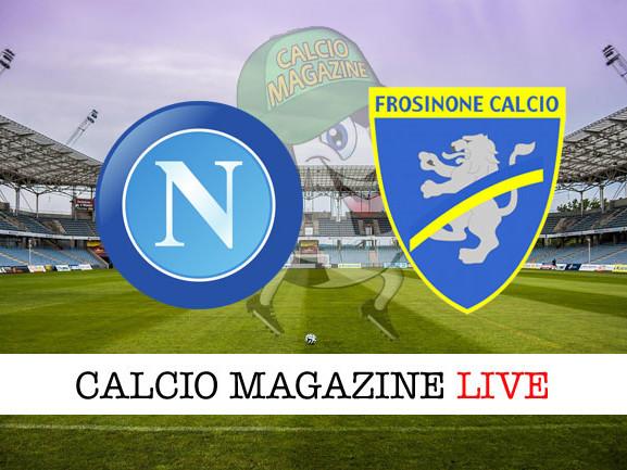 Napoli – Frosinone: cronaca diretta live, risultato in tempo reale