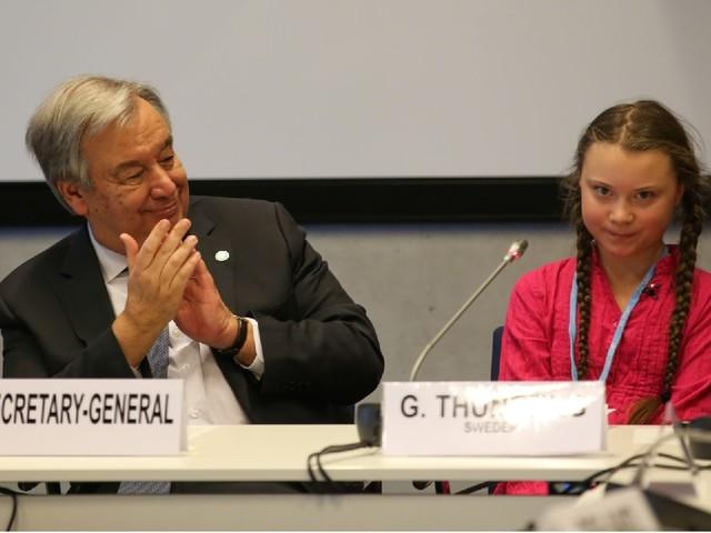 Guterres come Greta: sul clima basta parole. È l'ora dei fatti