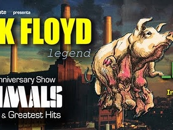 "PINK FLOYD LEGEND in ""ANIMALS – 40th Anniversary Show"" MILANO - Teatro LinearCiak, 20 maggio 2017"