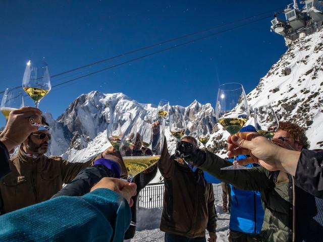 A Courmayeur, per degustare vini più alti d'Europa