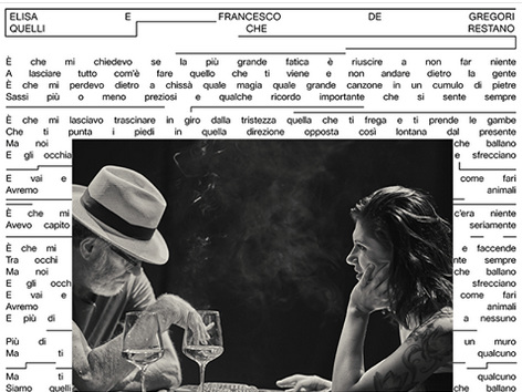 Elisa e Francesco De Gregori, Quelli che restano [testo e audio] Ascolta la canzone