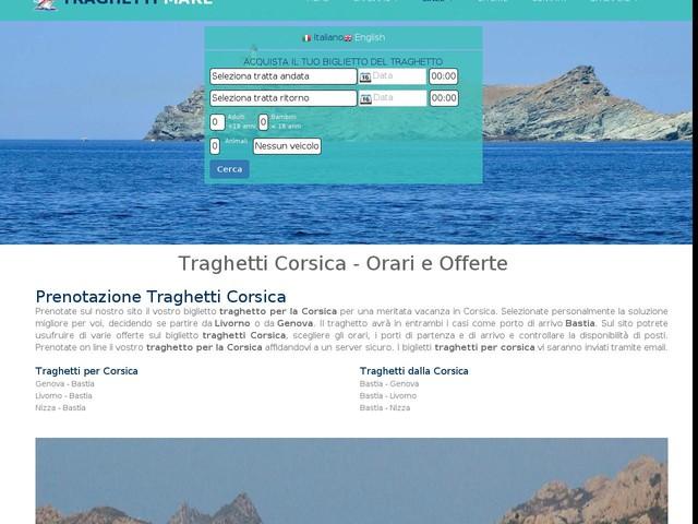 Traghetti Corsica. Offerte e Orari Traghetti Corsica