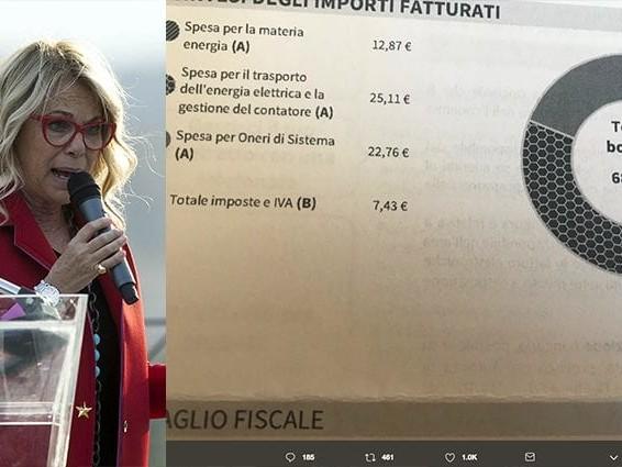 """Enel replica a Rita Dalla Chiesa: """"Le spese di trasporti e di sistema non dipendono dai consumi"""""""