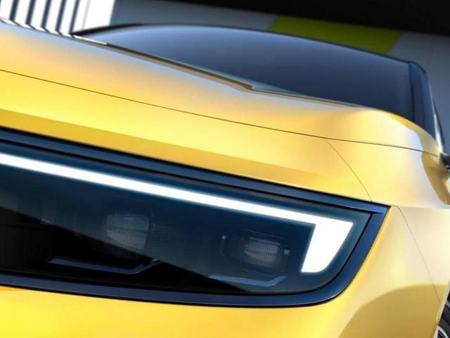Opel Astra - Primi teaser della nuova generazione