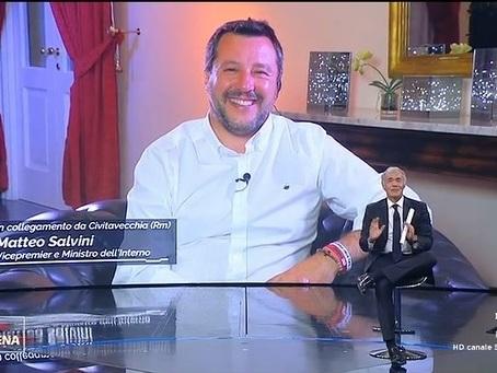 Per Salvini la disinformazione sul riscaldamento globale è diventata un cavallo di battaglia