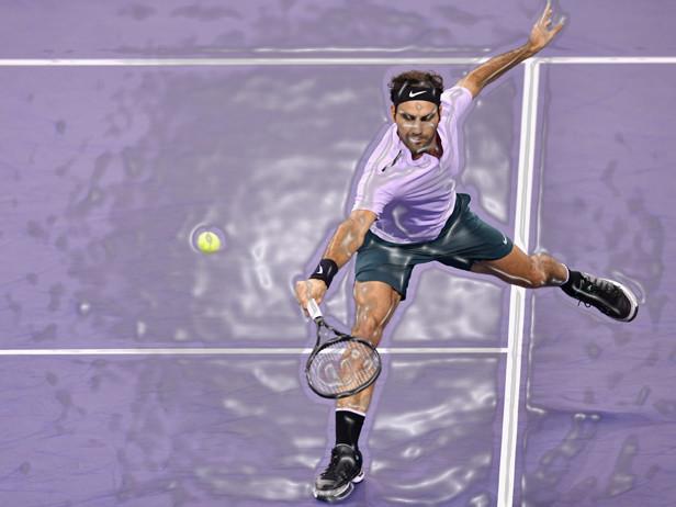 Federer, i 10 migliori colpi del Maestro nel 2017