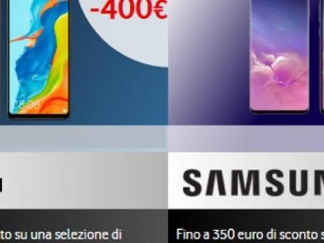 Senza anticipo le offerte Vodafone per device Huawei, Samsung Galaxy ed iPhone: una selezione