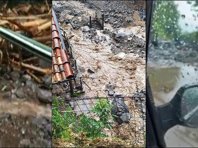 Frana nel Comasco, investito il paese di Blevio: fango e detriti per le strade, evacuate alcune famiglie. Isolate due frazioni a monte
