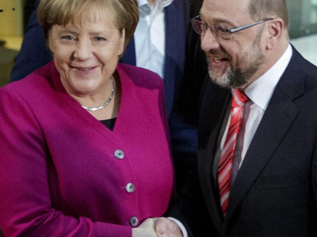 La scommessa impopolare di Merkel e Schulz