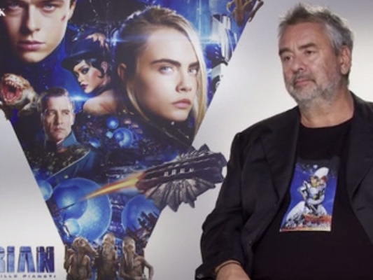 "Valerian – ScreenWEEK intervista Luc Besson: ""Non potrei mai dirigere un film Marvel"""