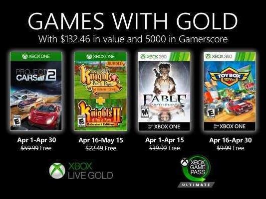 Games With Gold aprile 2020: uno dei giochi gratis potrebbe essere stato cambiato da Microsoft