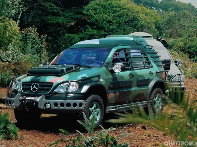 Mercedes Classe M - La madre di tutte le Suv compie 20 anni - FOTO GALLERY