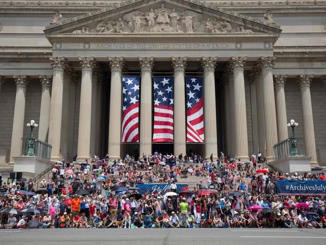 """Il 4 luglio di Trump Trionfo e proteste """"Lo show di una vita"""""""