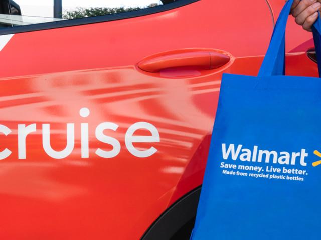 Cruise e Walmart - Le auto a guida autonoma consegnano la spesa a domicilio