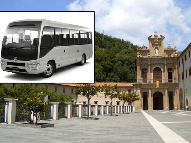 Paola, bus navetta collegheranno la stazione al Santuario di San Francesco