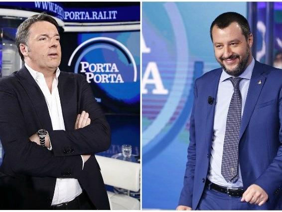 Renzi e Salvini si sfidano in tv: cosa può succedere e perché un confronto proprio ora