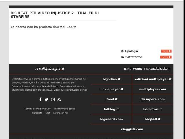 Injustice 2 - Trailer di Starfire