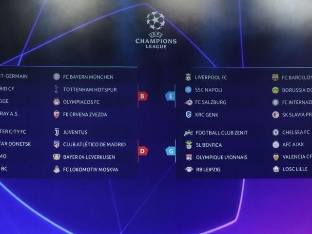 Champions: Juve, Napoli, Inter, Atalanta su Canale 5 alle ore 21 in chiaro e in streaming