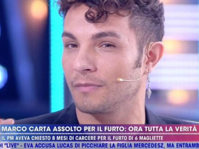 """Marco Carta, """"amica ha rubato magliette per regalargliele""""/ Motivazioni assoluzione"""