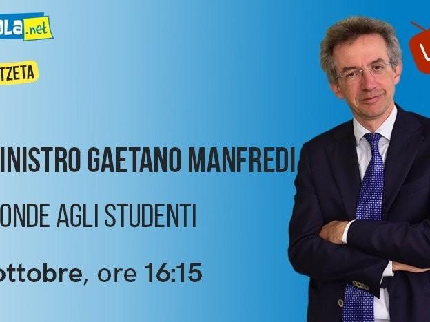 Università, il ministro Manfredi in diretta su Skuola.net - #MeetZeta martedì 13 ottobre ore 16.15