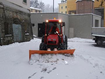 Piano neve Trento, operativi da domenica pomeriggio uomini e mezzi
