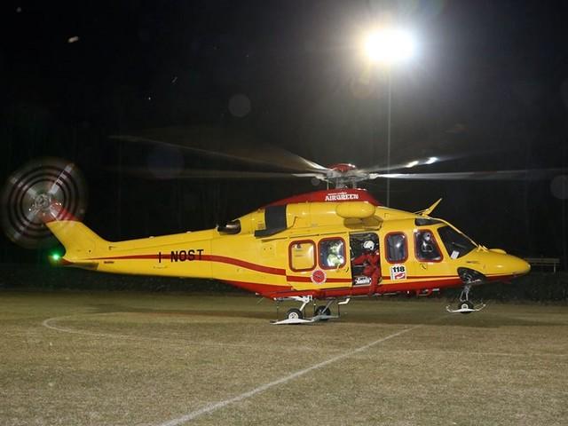 Gli uomini del 118 sfidano la furia del vento per salvare un paziente a Marettimo