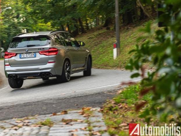 BMW X3M Competition: la prova