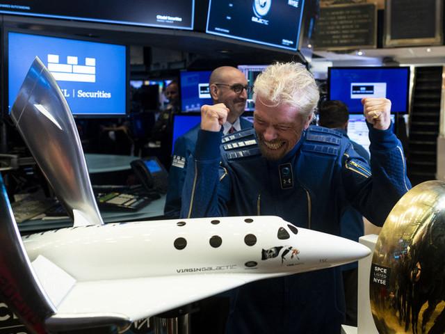 Richard Branson è il primo turista spaziale della storia