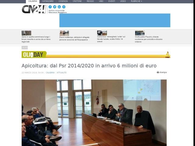 Apicoltura: dal Psr 2014/2020 in arrivo 6 milioni di euro
