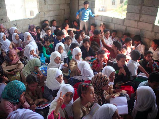 Il maestro yemenita che ha trasformato la sua casa in una scuola per 700 studenti