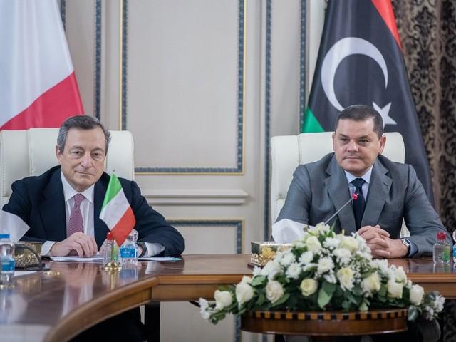 Draghi in Libia e la ricostruzione dell'antica amicizia